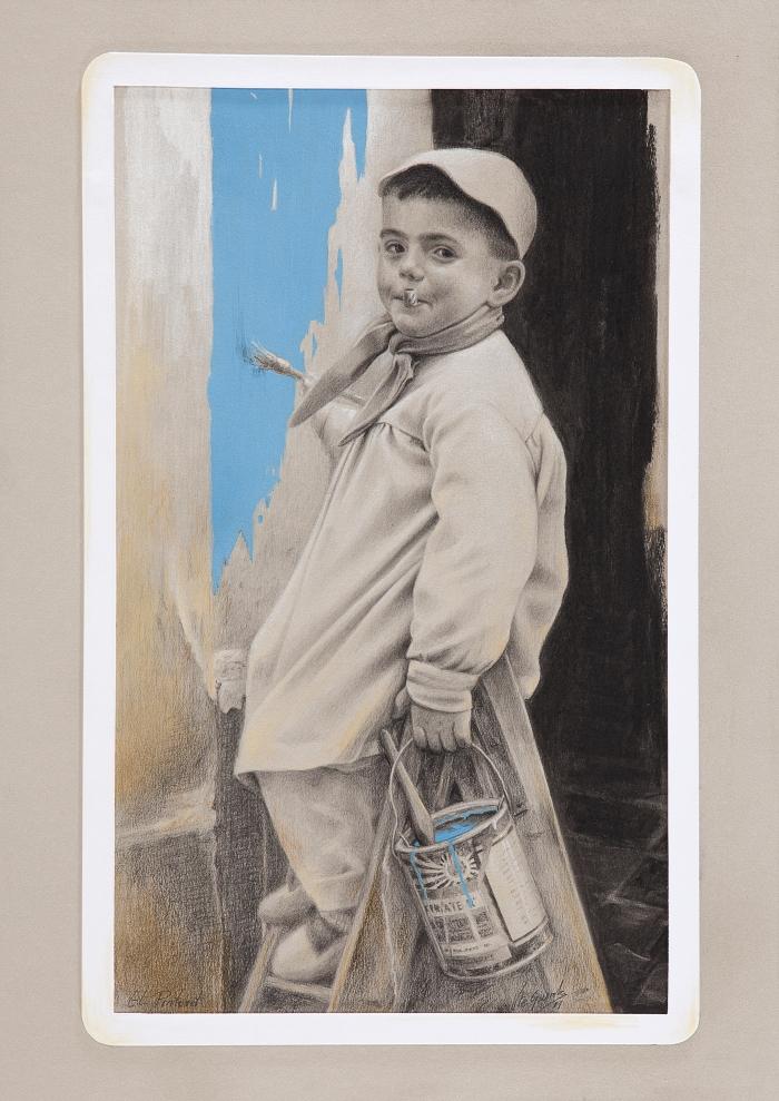 El Pintoret. Autoretrato de mipasado