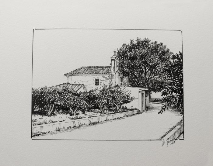 Ermita del Ecce Homo – 20×25 cm –(VENDIDO)