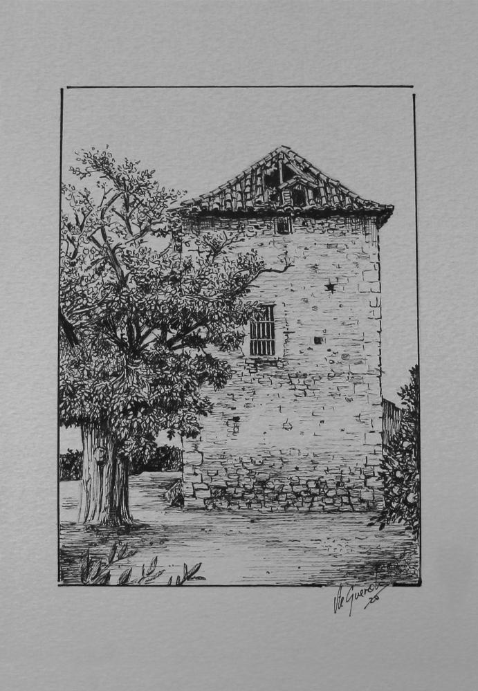 Torre de Tadeo – 25×20 cm –(VENDIDO)