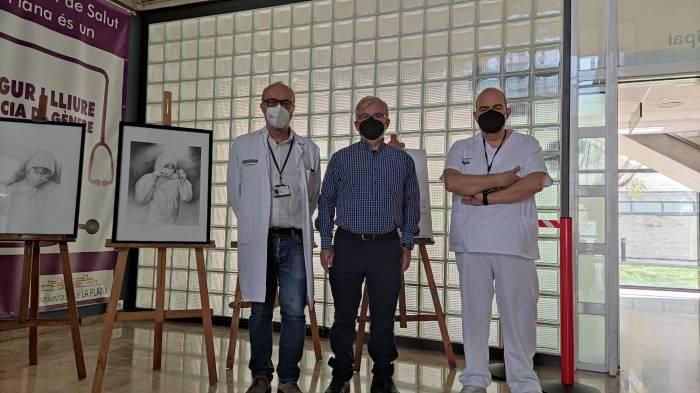 Pandemia, una exposición homenaje a lossanitarios.
